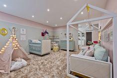 Candy Colors na decoração do quarto do bebê