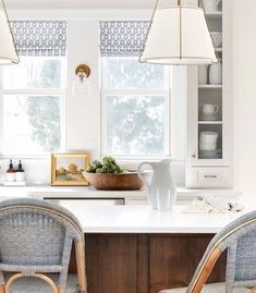 Ikea Hacks, Traditional Kitchen Renovation, Interior Design Traditional, Rattan Stool, A Thoughtful Place, Brown Kitchens, Shop Interiors, Traditional House, Home Remodeling