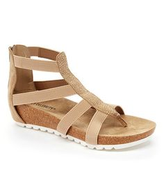 Another great find on #zulily! Taupe Tough Cookie Sandal #zulilyfinds