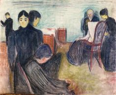 Edvard Munch - 1893: Death in the Sickroom