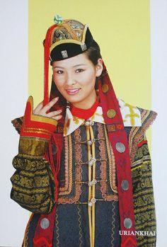 Local fashion: Traditional headdresses of the Mongolian women