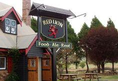 Red Lion Inn Sign   Danthonia Designs