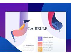 "Check out new work on my @Behance portfolio: ""la Belle"" http://be.net/gallery/62437811/la-Belle"