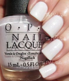 The PolishAholic: OPI 2015 Soft Shades Collection Swatches & Review - Chiffon My Mind