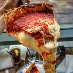 Deep dish pizza from Giordano's in Las Vegas [3024x3628] [OC]