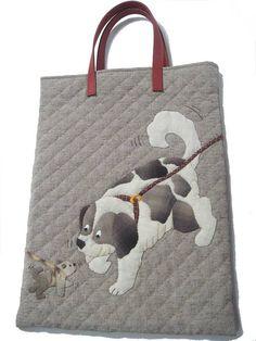 貝田明美 手提袋材料包(含手把)/散步之1