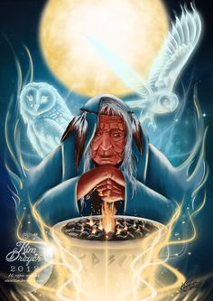 Flames of Wisdom by AmberCrystalElf on DeviantArt Native Art, Native American Indians, Madonna, Animal Medicine, Celtic Mythology, Triple Goddess, Goddess Art, Sacred Feminine, Sacred Art