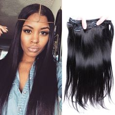 Clip in human hair extensions wavy malaysian virgin hair clip ins straight clip in human hair extensions peruvian straight virgin human hair clip in extensions for black women pmusecretfo Images