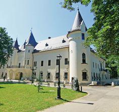 Das Schloss Karolyi (Baujahr: 1794) in Carei, Kreis Satu Mare.