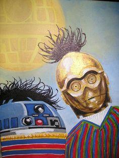 Star Wars / Sesame Street (Bert / Ernie) Mashup
