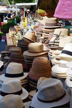 Provence market - hat stand