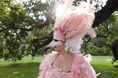 Custom Flamingo Costume by Ne'er-do-well Designs | CustomMade.