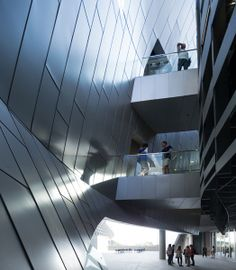 Emerson College in Los Angeles by Ar. Thom Mayne of Morphosis