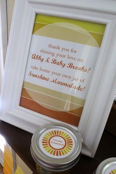 You are my sunshine baby shower party
