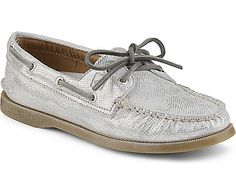 Sperry Top-Sider Authentic Original Metallic Python 2-Eye Boat Shoe