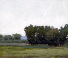 Afternoon Haze, 6 x 7 inches, oil on panel