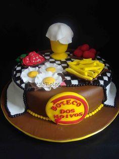 bolos decorados boteco Bolos decorados boteco