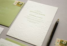 embossed card inspiration - Silhouette Cameo cutting machine can do this!