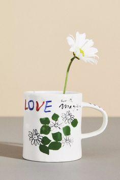 Hotel Magique for Anthropologie Melange Mug | Anthropologie Anthropologie Uk, Mug Cup, Best Brand, Paper Goods, Stoneware, Tea Cups, Product Launch, Mugs, Graphic Design