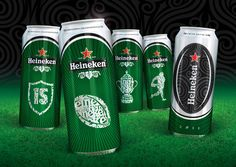 Heineken Rugby World Cup 2011 on Packaging of the World - Creative Package Design Gallery