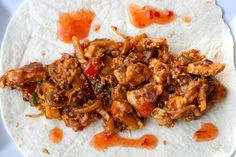 Super snelle kruidige wrap met kip en Oosterse groente - De keuken van Ursie