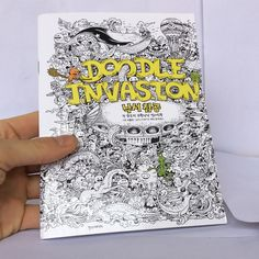 Need a To-Go Version of the Doodle Invasion, Well here it is! Start coloring these doodles Today!
