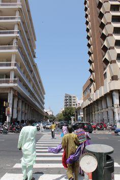 Place de l'Indépendence, Dakar, Sénégal