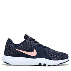 best website be980 d39dd Nike Women s Flex Trainer 8 Training Shoes (Obsidian   Pink) Nike Training  Shoes Women