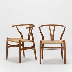 Hans Wegner Wishbone Chairs CH24