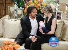 'The Bold and The Beautiful' (B&B) spoilers tease that there may be another twist in the story about little Douglas Forrester's paternity. Could Ridge Forrester [Thorsten Kaye] turn out to be Caroline Spencer's [Linsey Godfrey] baby daddy after all? The now-dead Dr Wolin told Ridge that he had