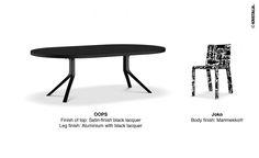 Our proposed matching on Monday made through our website: Oops table and Joko chair Marimekko® #Marimekko #interioridea #furnitureidea #fattoinitalia #madeinitaly
