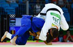 Kamp om brons: winst tegen de Hongaar Miklos Ungvari. Rio 2016, Om, Sports, Hs Sports, Sport