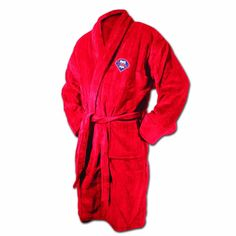 Philadelphia Phillies Red Terrycloth Bathrobe