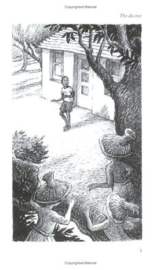 From 'Legend of the St. Ann's Flood' by Debbie Jacobs, illustrated by Pam Smy (2004)  Back Cover