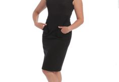 The Diego Cap Sleeve Dress. Perfect for business travel. shopmelissabell.com