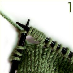 Tutorials on many knitting stitches
