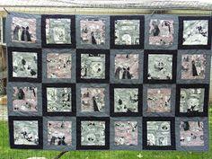 tarabu arts - an old-fashioned quilt artist in a modern world: A Ghastlie update  Ghastlies fabric quilt
