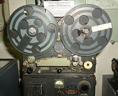 "1934: AEG K2 Magnetophon, the first modern tape recorder. Tapes ran at 39 ips, and were an Fe3O4, oxide, not the Fe2O3 type which is the normal bias tape of today. One day, a K2 that was producing recordings of extraordinary quality was sent ""for repair."" Service techs found its DC bias amplifier was oscillating, making an additional bias. The tape's magnetization became directly proportional to the instantaneous audio signal. AC bias is at the heart of every magnetic recorder since."