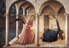 Fra Angelico. Anunciación convento de San Marcos.