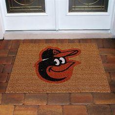 Baltimore Orioles Logo Coir Door Mat