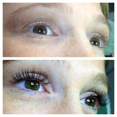 61e68ff22e4 Before and After Eyelash Extensions from Posh Lash Now located At Cutler  MD, Eye And Skin 550 Main St Woburn