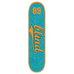 Blind Athletic Skin Skateboard Deck - 7.75 Inch Deck Width: 7.75 inches