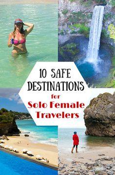 Travel tips - 10 safest destinations for solo female travelers.