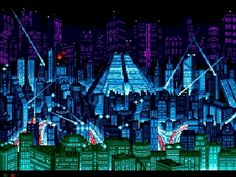 Snatcher [( Science-fiction, dystopia, future noir, Blade Runner, cyberpunk, night skylines, dark city, Metropolis )]