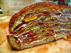 the Hungry Texan's Ultimate Italian Sub