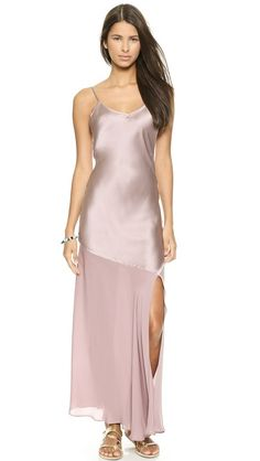 Haute Hippie Sleeveless Gown