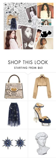 """""""""""Like the words written in the sand where the waves are, I'm afraid you'll diseppear, so I always miss you"""" ~ IU (LEE JI-EUN)"""" by kimiko-alien ❤ liked on Polyvore featuring Kimiko, Dolce&Gabbana, Mafalda von Hessen, Chicwish, Charlotte Olympia, Arman Sarkisyan and Eichholtz"""