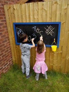 Children's Framed Outdoor Chalkboard in Business, Office & Industrial, Retail & Shop Fitting, Advertising/ Shop Signs Outdoor Chalkboard, Framed Chalkboard, Outdoor Play Areas, Outdoor Toys, Shop Fittings, Retail Shop, Creative Kids, Shop Signs, Store Design
