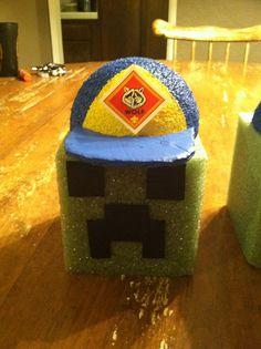 17 Best Minecraft Blue Gold Images Mine Craft Birthday