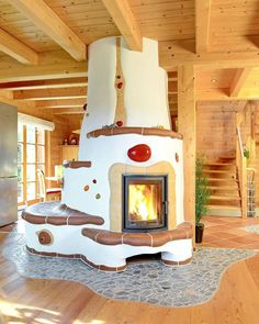 Another awesome thermal mass heater